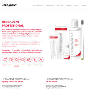 Herbadent-profesional.cz