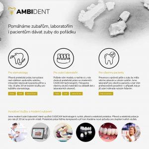 Web Ambident.cz